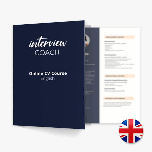 Online CV Course English